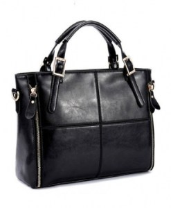 Women Genuine Leather Patchwork Handbag