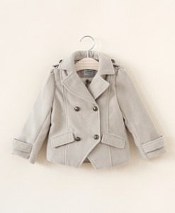 Baby Children Girls Double Breasted Jacket Small Suits