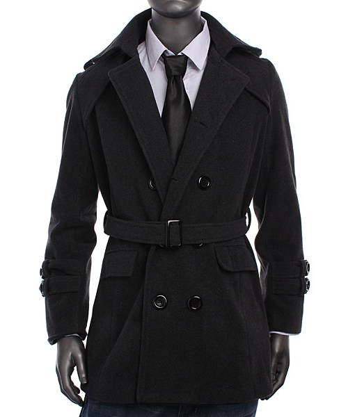 Casual Trench Double Breasted Slim Fit Long winter Coats