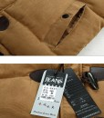 Cotton Autumn Winter Jacket Casual Hooded Waistcoat