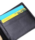Leather Business Wallet Pocket Card Clutch Bifold Slim Purse