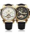 Automatic Mechanical Luxury Flywheel Men Wrist Watch