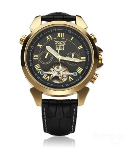Automatic Mechanical Luxury Flywheel Men Wrist Watch