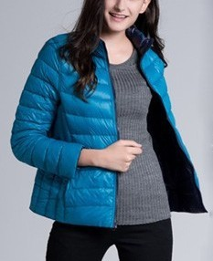 Two Side Lightweight Down Jacket