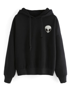 The alien icon Long sleeved hoodie