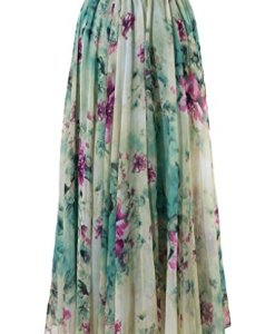 BOHO Women Floral Summer Skirt