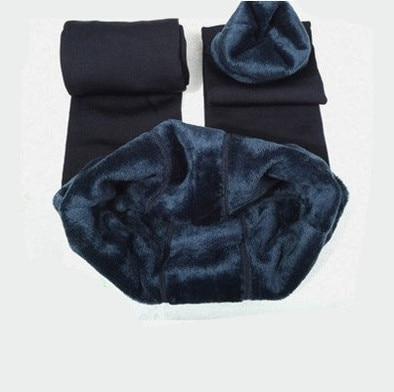 Warm Women's Velvet Winter Ankle-Length Leggings