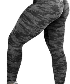 Womens High Waist Seamless Leggings Workout Yoga Stretch Pants Butt Lift Tummy Control Tights