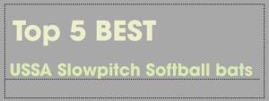 Best USSSA Slowpitch Softball Bats