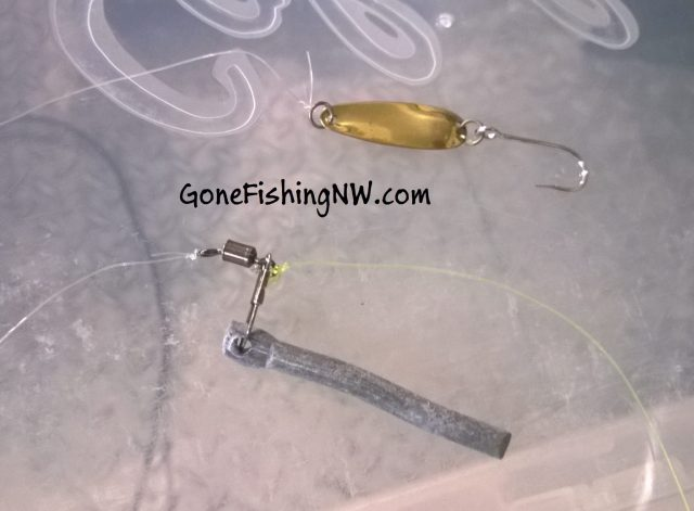 How to setup a dick nite spoon drift fishing rig gone for Salmon fishing tackle setup