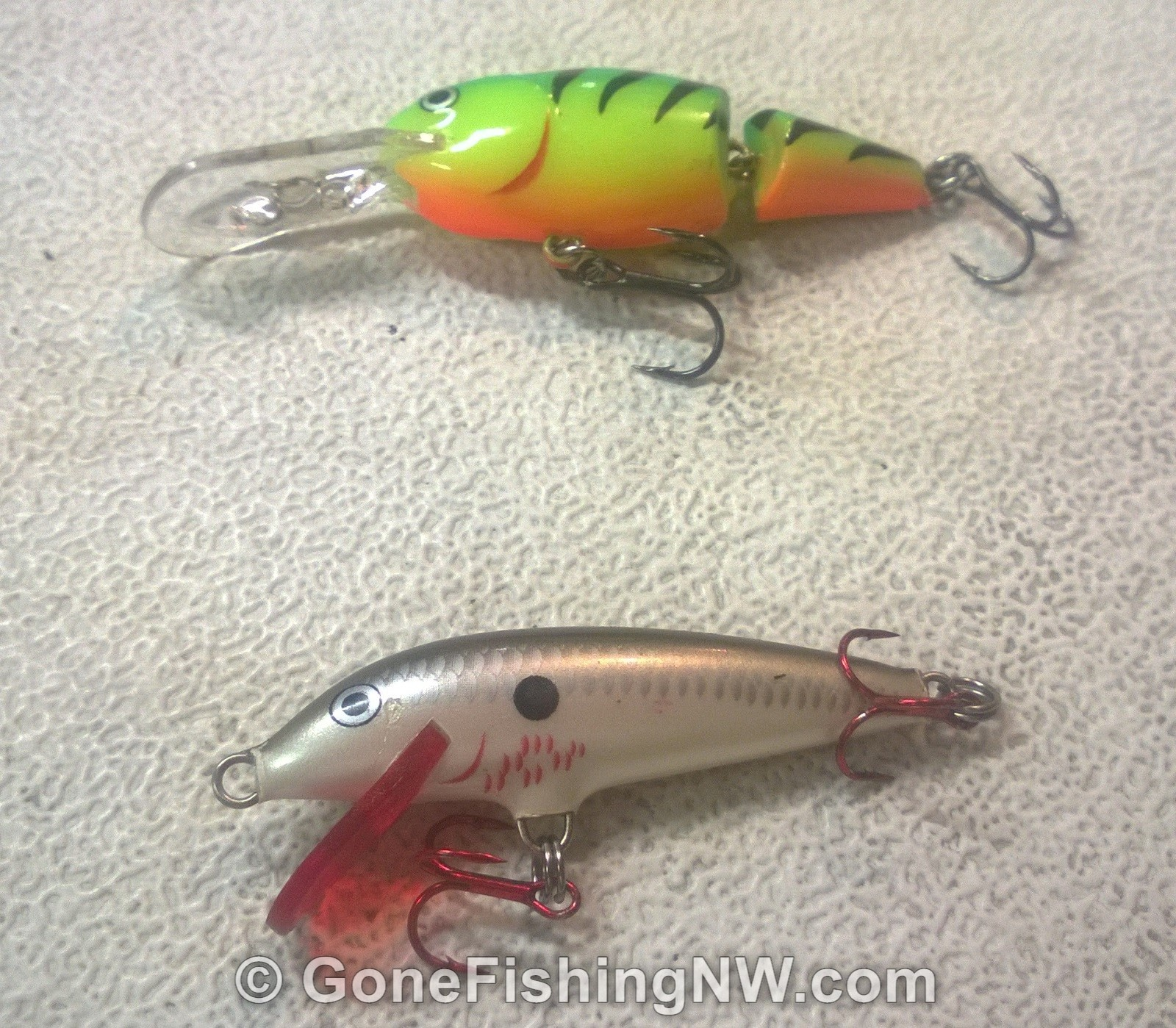 The best trout fishing lures gone fishing nw for Best lures for river fishing