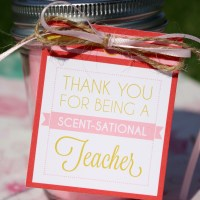 Teacher Gift Tags + Free All About Me Printable Book - UPDATED