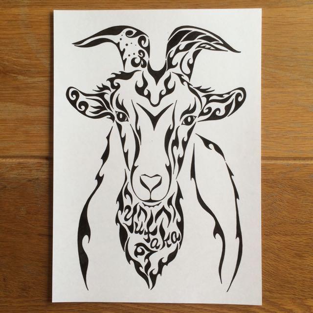 羊の顔「ゴネモリ」