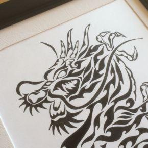 龍(ドラゴン)や妖怪などの架空の生物も描いてます。色々お問合わせ下さいね