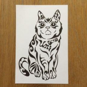 猫好きにはたまらない!ペットの猫をモチーフにしたアートな絵のオーダーメイド