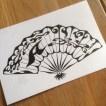 日本舞踊 扇子 ロゴマーク プロフィール画像