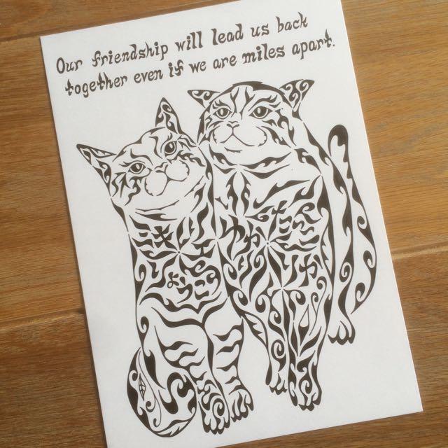 ネコ 猫 友達 親友