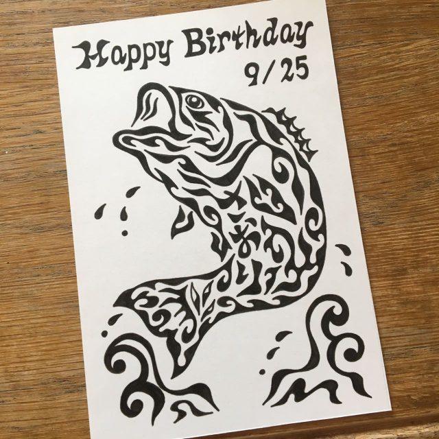 ブラックバス,釣好き,誕生日プレゼント