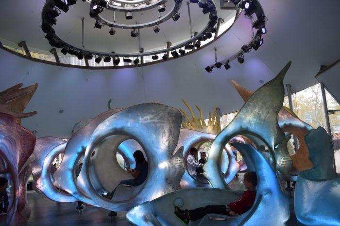 Fish merry-go-round New York City