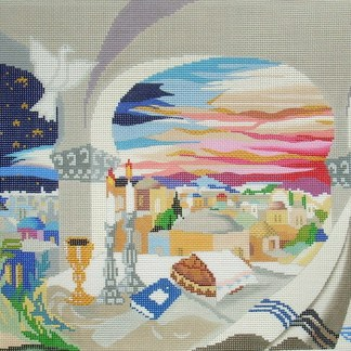 Shabbat Evening Tallit
