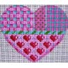 Pink Patterns Heart