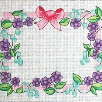 Ribbons and Flowers Tallit/Challah Cover
