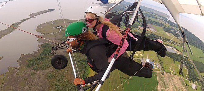 Up, Up and Away! Hang Gliding at Kitty Hawk, NC
