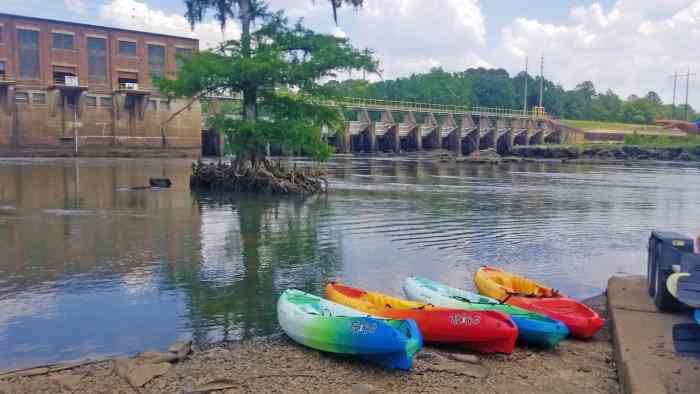 Kayaking Flint River Georgia