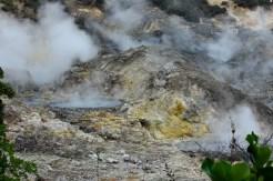 The volcano's mud