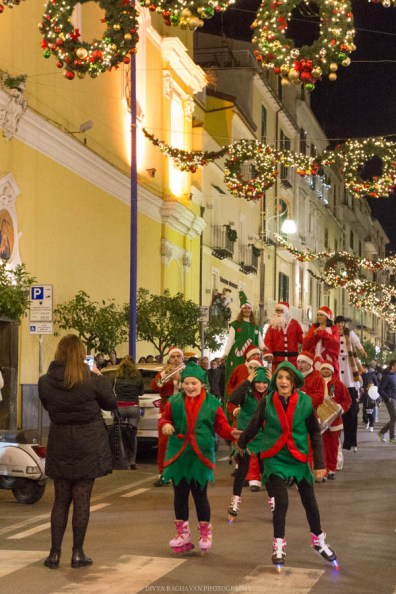 Christmas parade, Sorrento, Italy-2