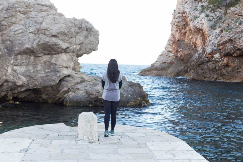 Sukanya her Khaleesi moment in Dubrovnik // Photos and stories from a week in Croatia // Memories from the Balkans // Dubrovnik, Split, and Zagreb