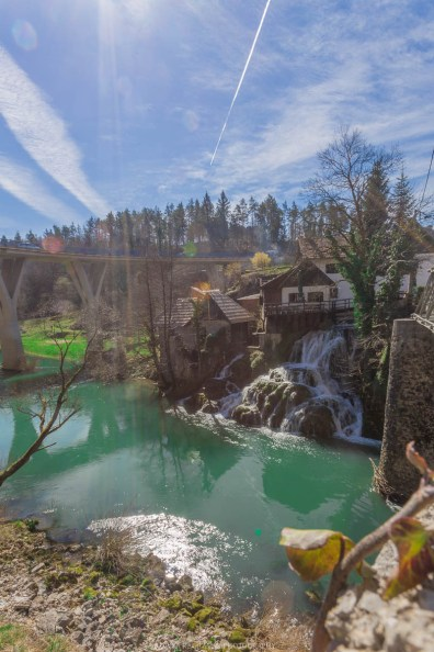 The beautiful town of Rastoke before Plitvice Lakes, Croatia // Photos and stories from a week in Croatia // Memories from the Balkans // Dubrovnik, Split, and Zagreb