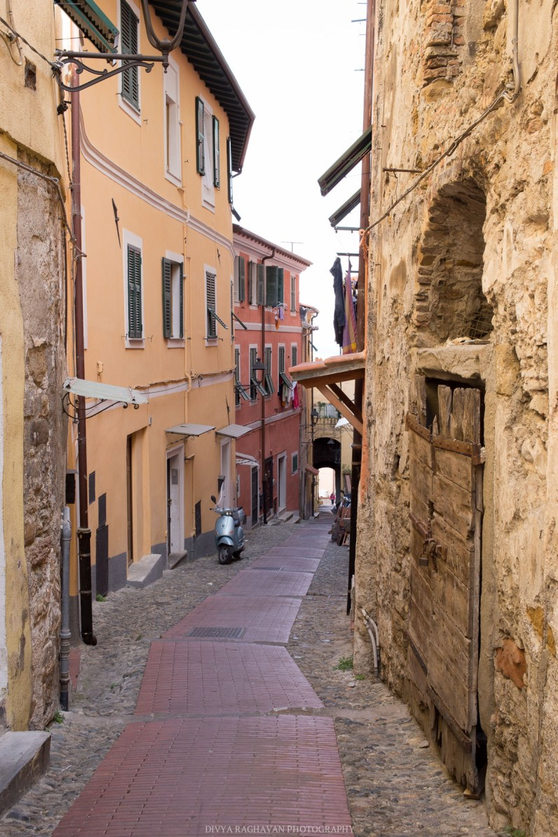 The cobblestone streets of the old town // A day trip to the medieval town of Ventimiglia, Italy from Nice, France // gonewithawhim.com