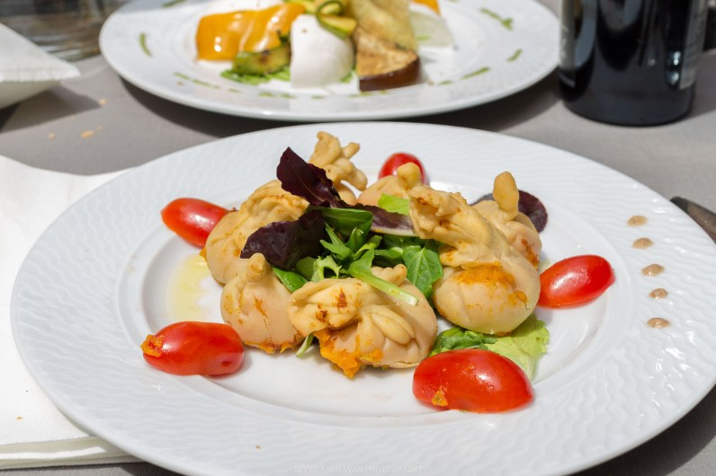 Ravioli with butternut squash // A day trip to the medieval town of Ventimiglia, Italy from Nice, France // gonewithawhim.com