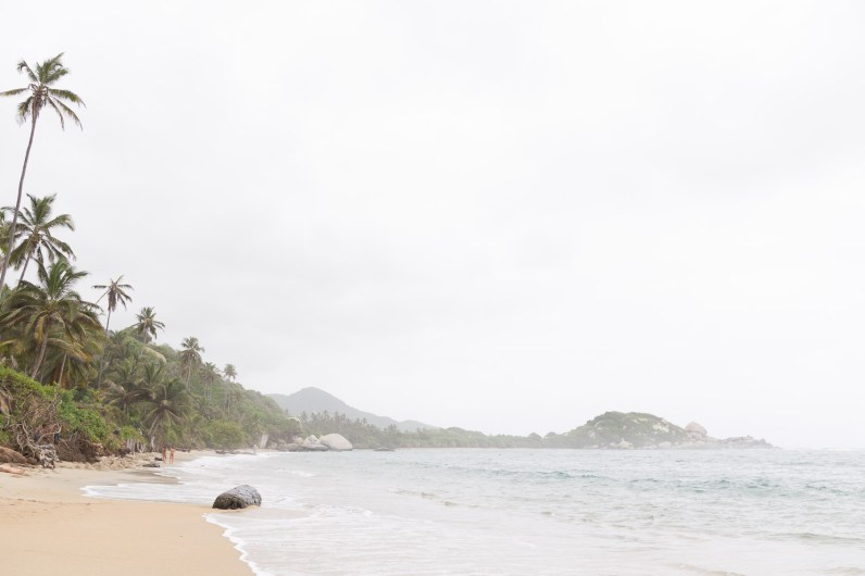 The beaches of Tayrona National Park, Santa Marta, Colombia // Photos to inspire you to visit Colombia