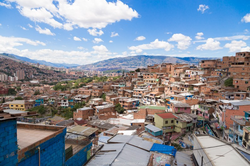 Views of communa 13, Medellin, Colombia // Photos to inspire you to visit Colombia