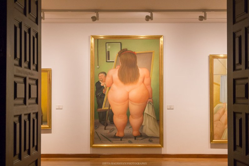 Bootylicious at Bogota musem of Botero, Colombia, South America -- Photos to inspire you to visit Colombia -- gonewithawhim.com