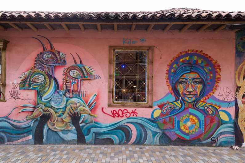 Street art of Bogota, La Candaleria, Colombia, South America // Photos to inspire you to visit Colombia