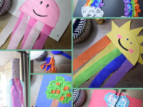 9+ Crepe Paper Crafts For Kids