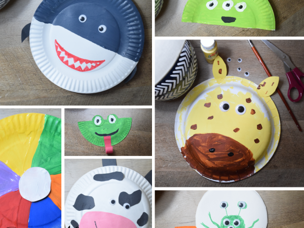 35+ Paper Plate Crafts For Kids