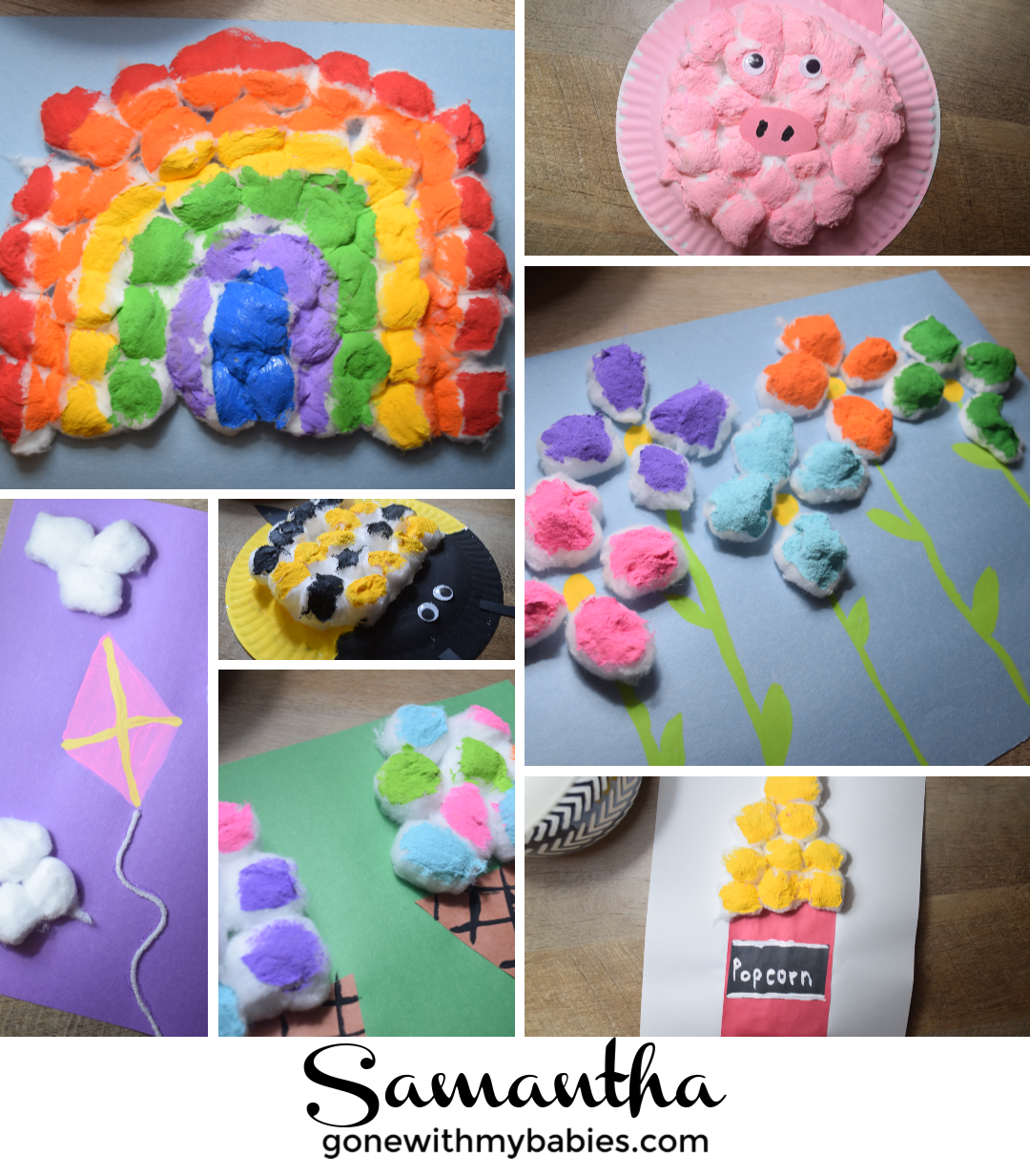 13+ Seriously Adorable Cotton Ball Crafts For Kids