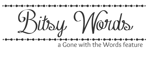 Bitsy Words: Bridge by Jeri Smith-Ready