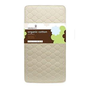 Naturepedic Quilted Deluxe 252 Wool Organic Crib Mattress