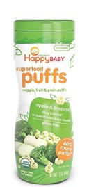 Organic baby snacks happy baby puffs