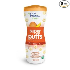 organic baby snacks plum super puffs