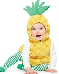 Baby Halloween Costume Pineapple