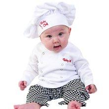 Baby Chef Halloween Custome