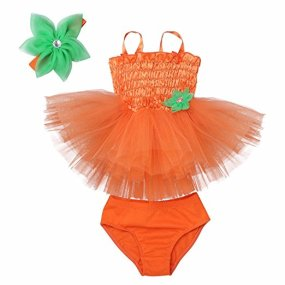 Halloween pumpkin tutu dress