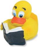 Non-Toxic Bath Toys Rich Frog Reader Rubber Duck Children Bath Toy