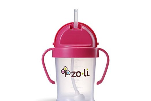 pink zoli sippy cup